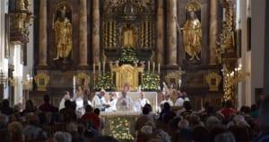 Mis in Basilika Frauenkirchen