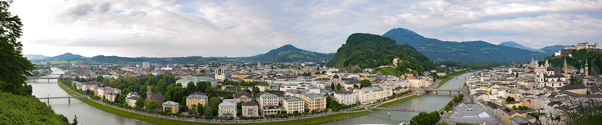 Mönchsberg panorama