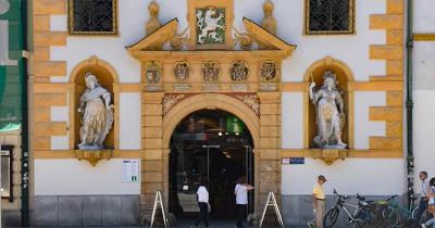Ingang Landeszeughaus