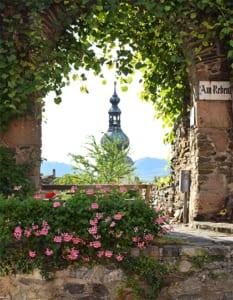 Doorkijkje naar Piaristenkerk