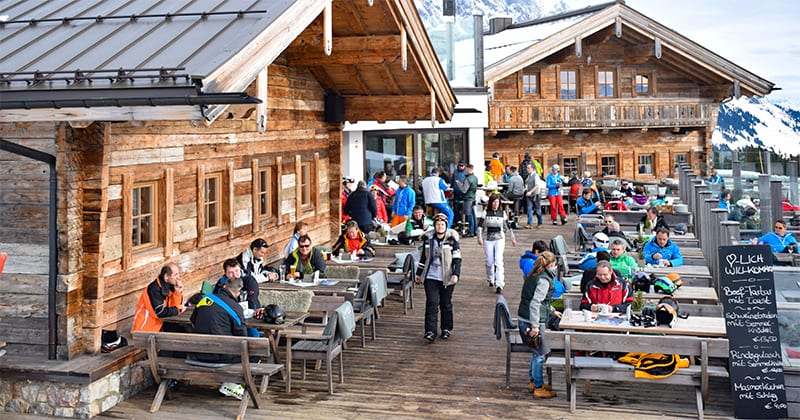 Ook zonder ski's bereikbaar