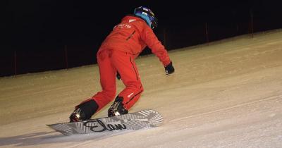 Skishow in de Bründlarena