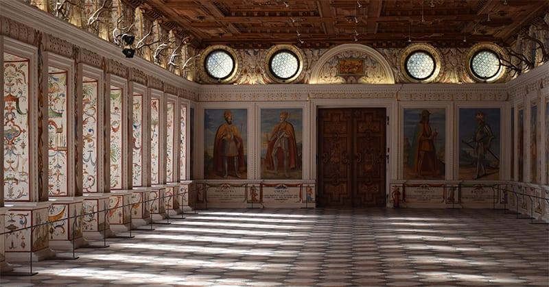 Schloss Ambras Koningszaal