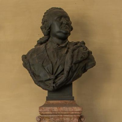 Gerard van Swieten's Buste in de Universiteit