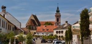 Blik op de Fischerkirche