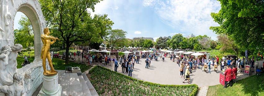 Genuss Festival Stadtpark Wenen