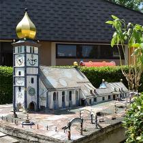 Hundertwasserkerk in Minimundus