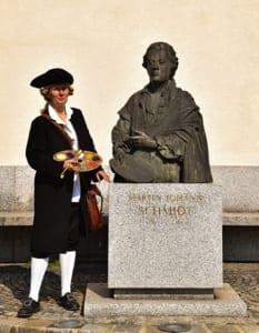 Standbeeld Kremser Schmidt
