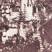 Kaiser Franz Joseph en keizerin Elisabeth in Bad Gastein
