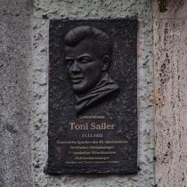 Gedenkplaat Toni Sailer