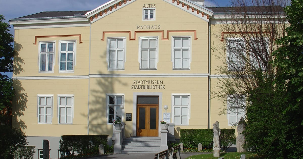 Museum Bad Vöslau, met wijnexpositie