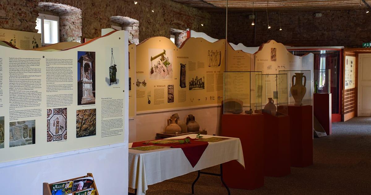 Wijnmuseum kasteel Gamlitz