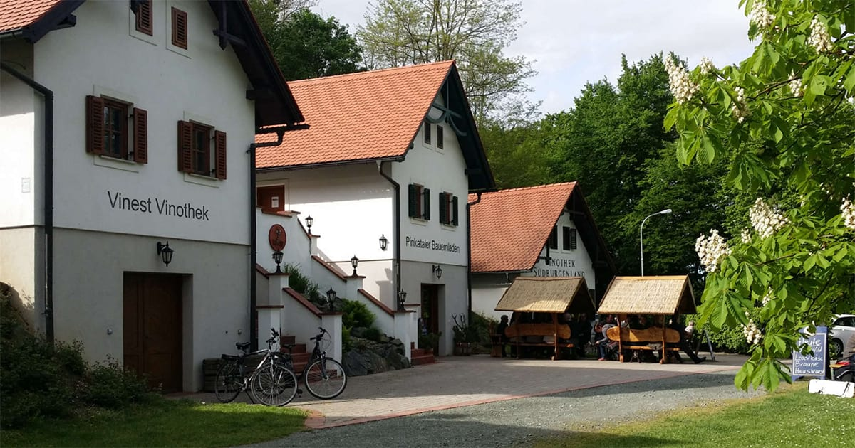 Wijnmuseum en Uhudlervinotheek in Moschendorf