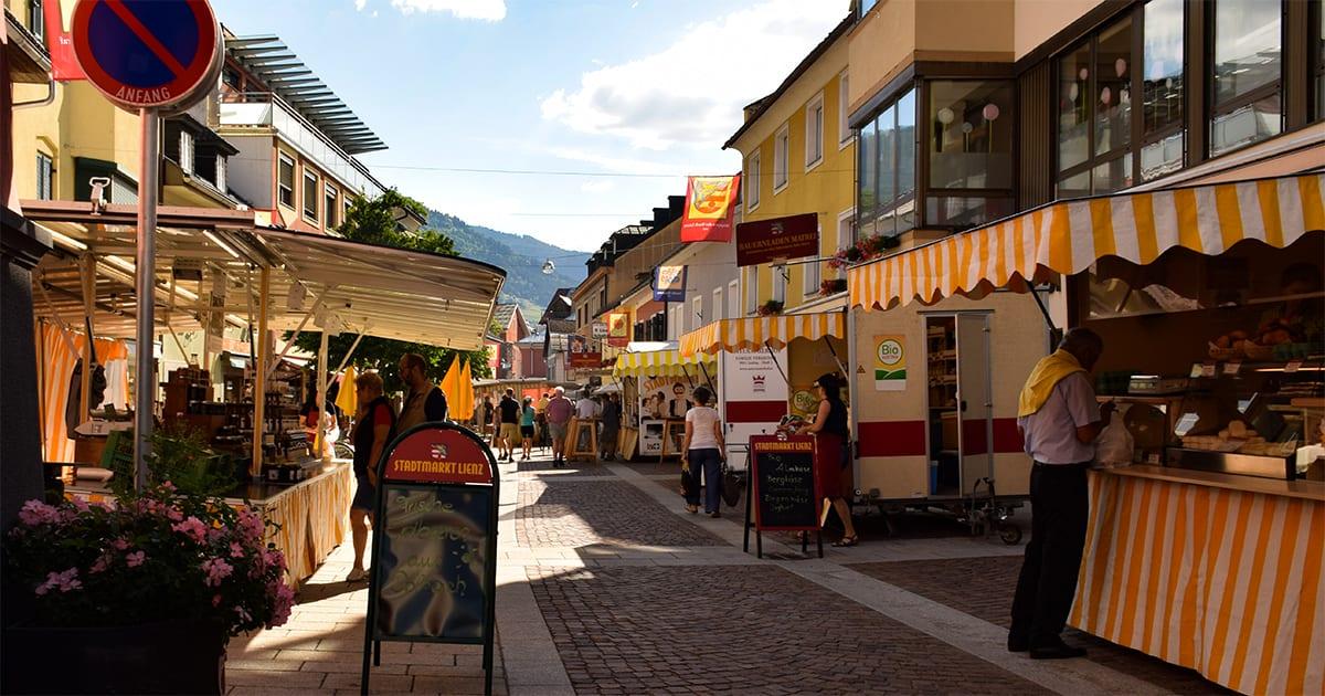 Markt in de Rosengasse