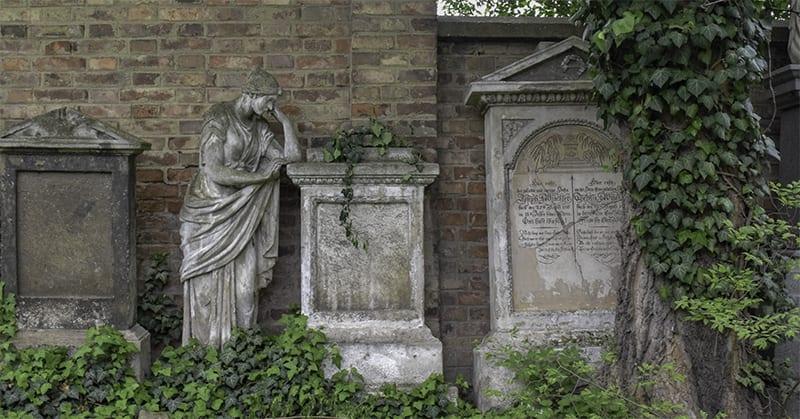 Friedhof St Marx - Gräber