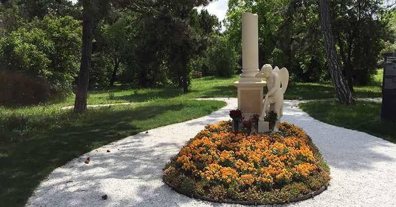 Friedhof St Marx - Mozartgrab