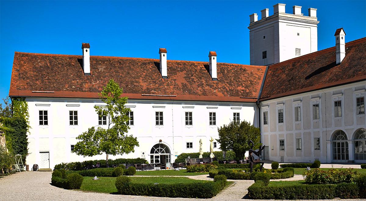 Binnenplaats kasteel Ennsegg