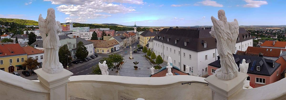 Uitzicht vanaf de bergkerk
