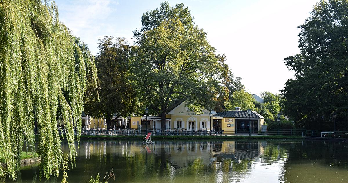 Cafe Restaurant imin het Doblhoffpark