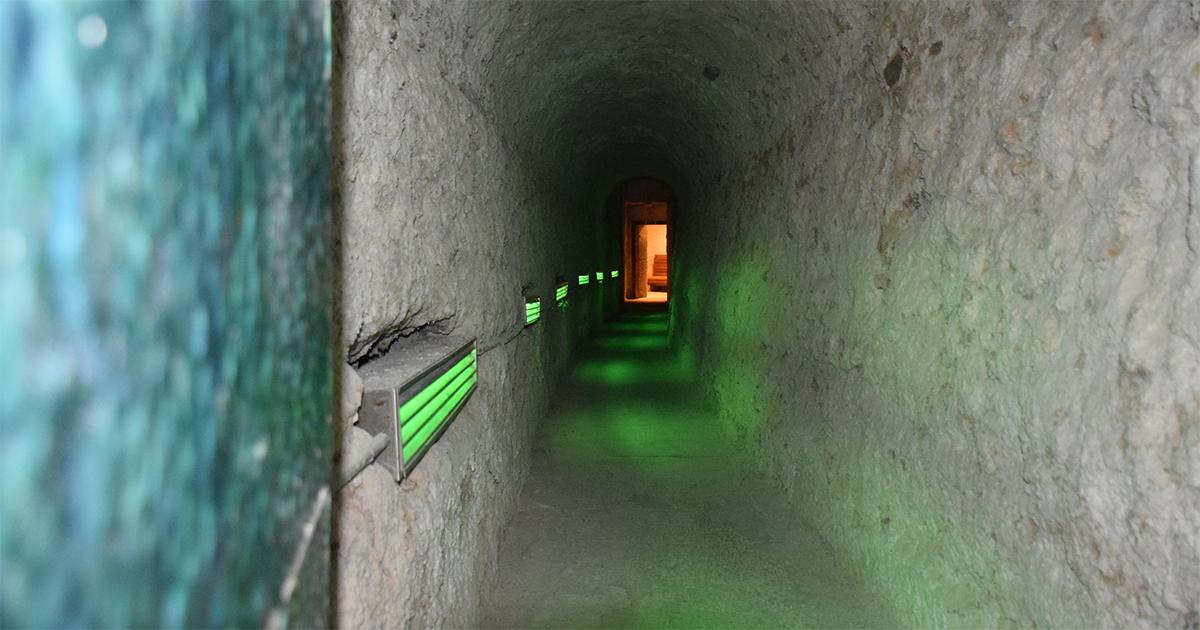 Gang naar de originele Romeinse bron