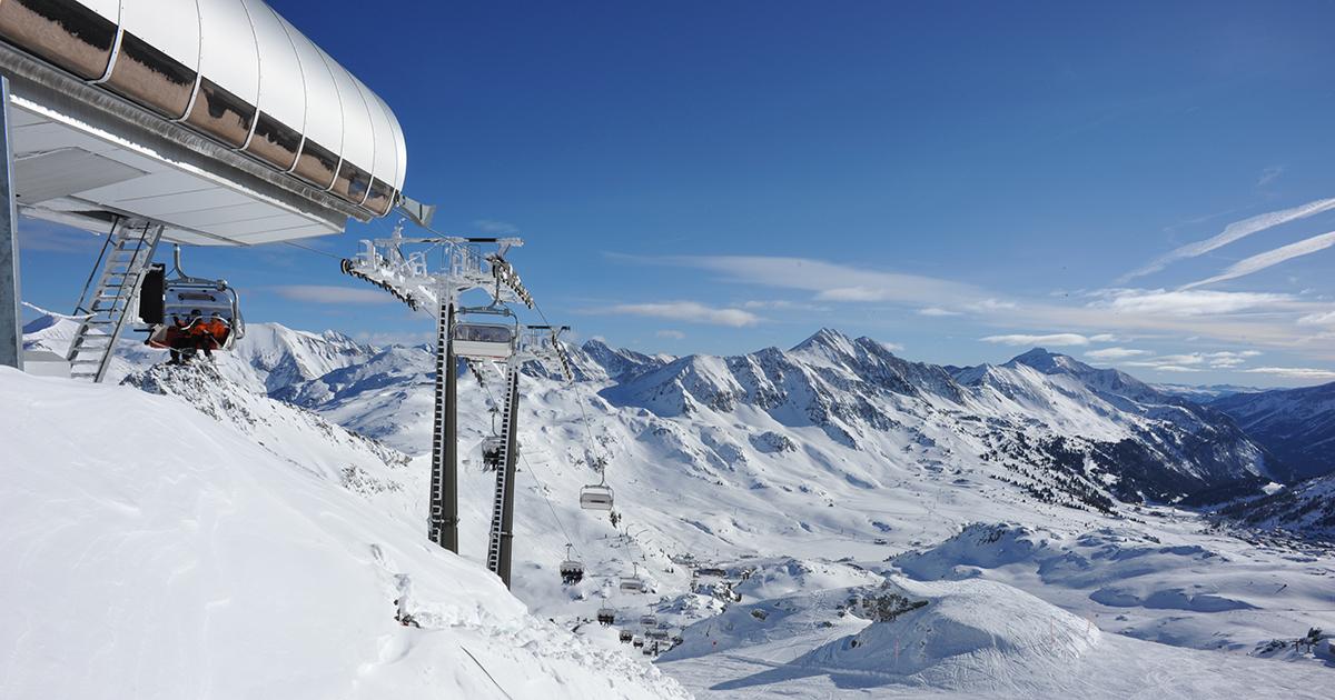 Obertauern maakt de slogan 'Wir sind Schnee' waar