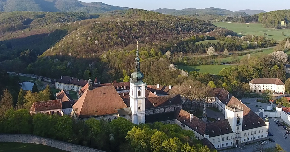 Abdij Heiligenkreuz in de Wienerwald