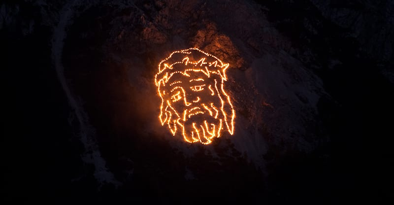 Bergvuur - Christus