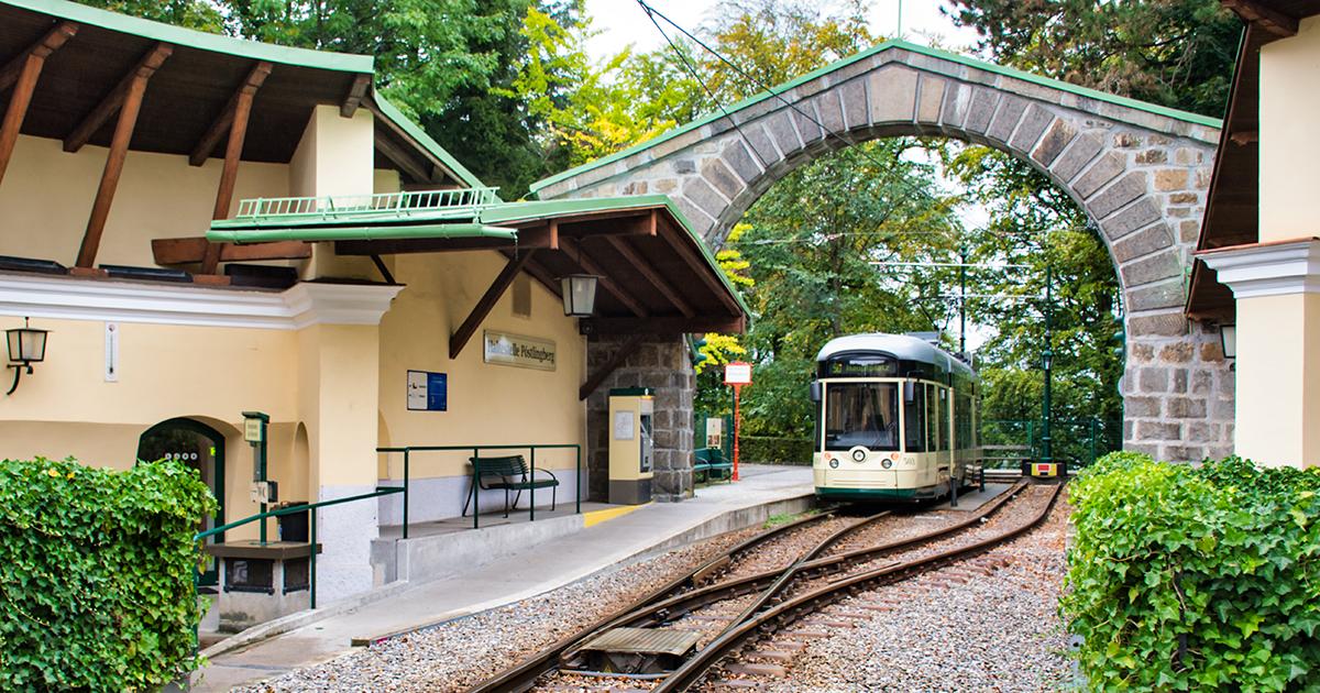 Bergstation Pöstlingbergbahn