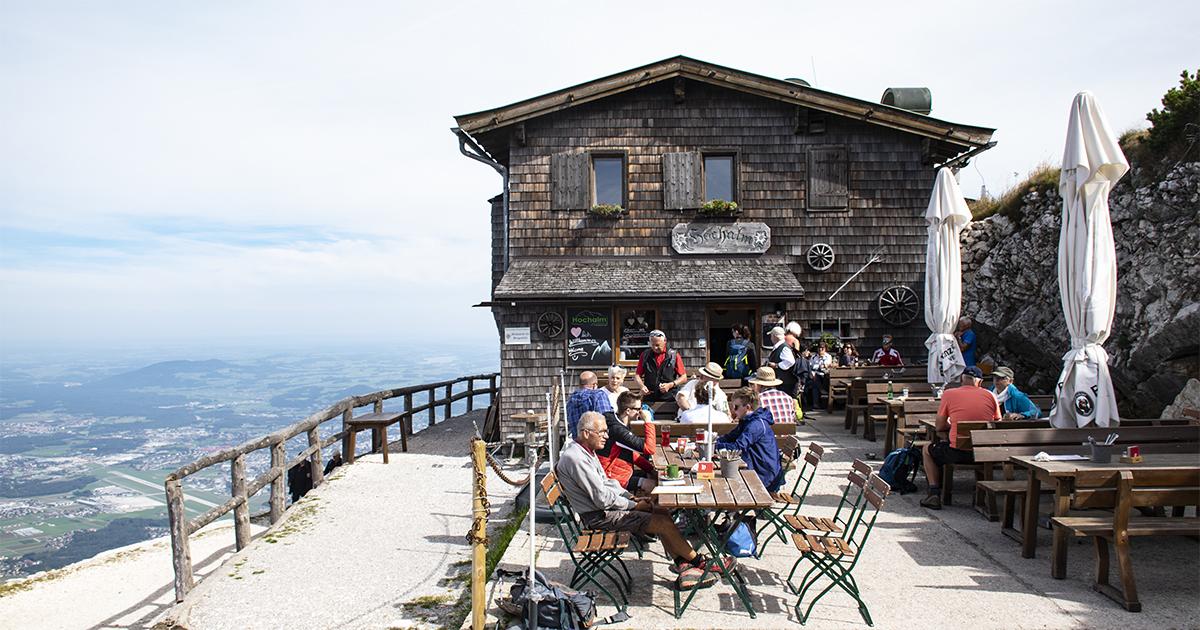 Hochalm op de Untersberg