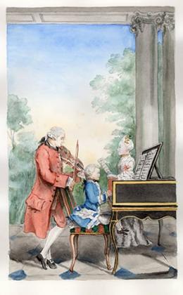 Leopold & Wolfgang Mozart