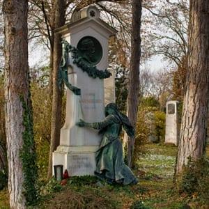 Pronkvolle grafsteen