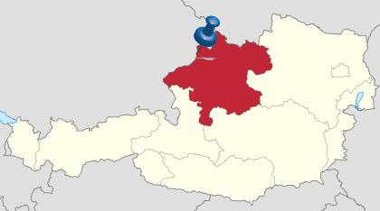 Kaartje Schärding Opper-Oostenrijk