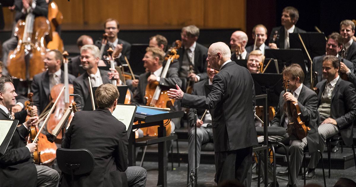 Bernhard Haitink dirigeert de Wiener Philharmoniker (2019)