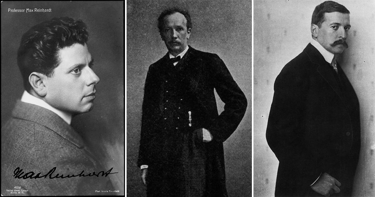 Reinhardt Strauss Hofmannsthal