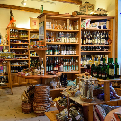 De boerenwinkel in Pöllau