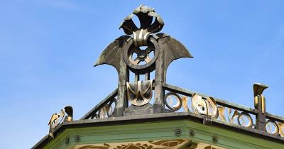 Paviljoen Karlsplatz - Detail