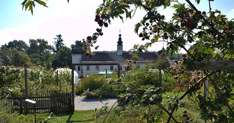 Pavillon Schloss Schiltern