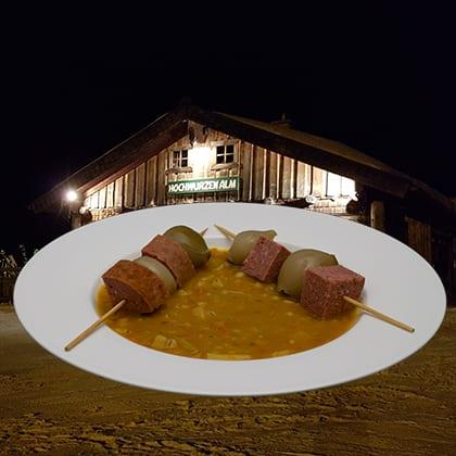 Pompoen-aardappelstoofpot