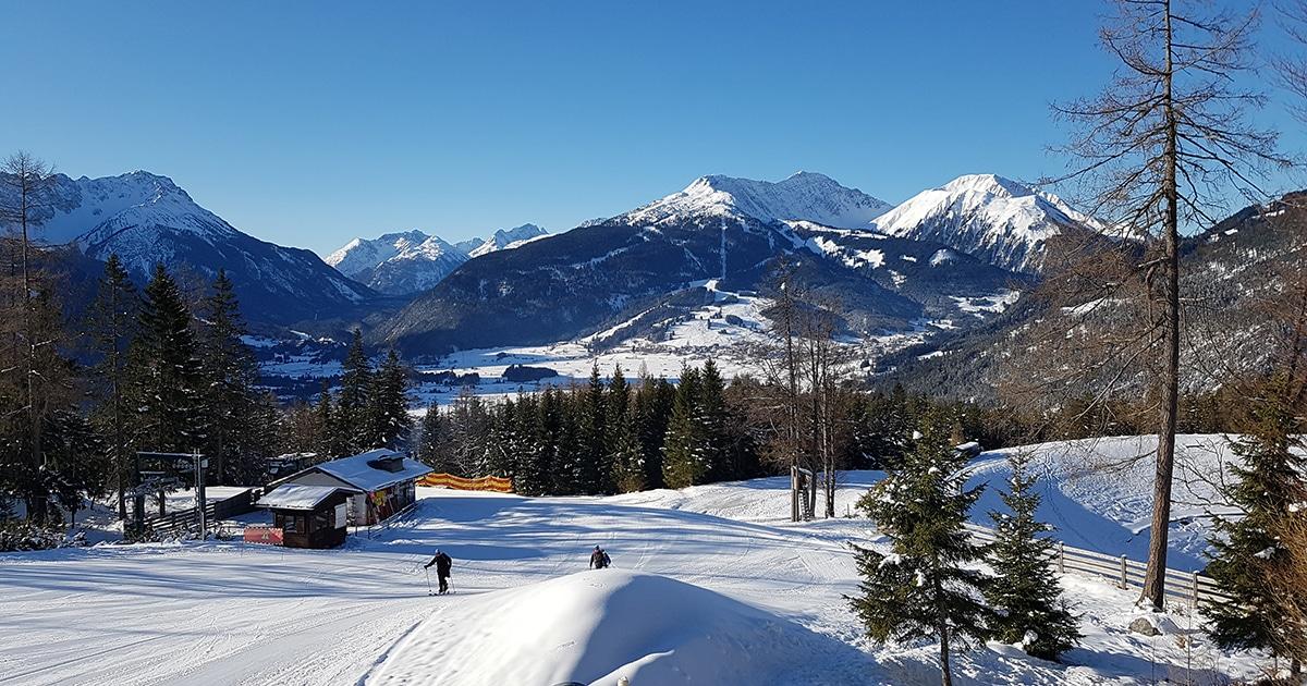 Piste in het Skigebied Serfaus Fiss Ladis