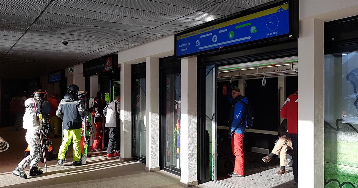 Metro in Serfaus