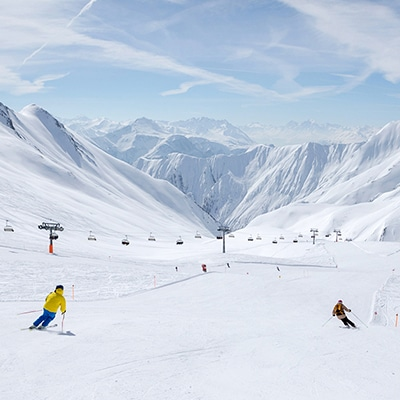Skifahren in Serfaus Fiss Ladis