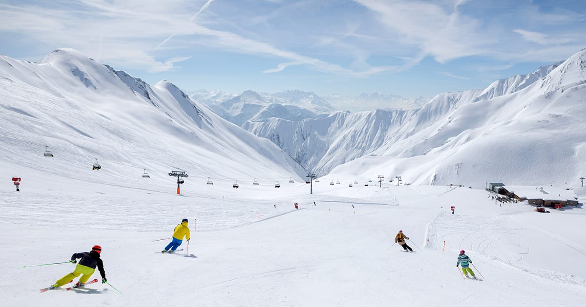 Serfaus Fiss Ladis Skifahren