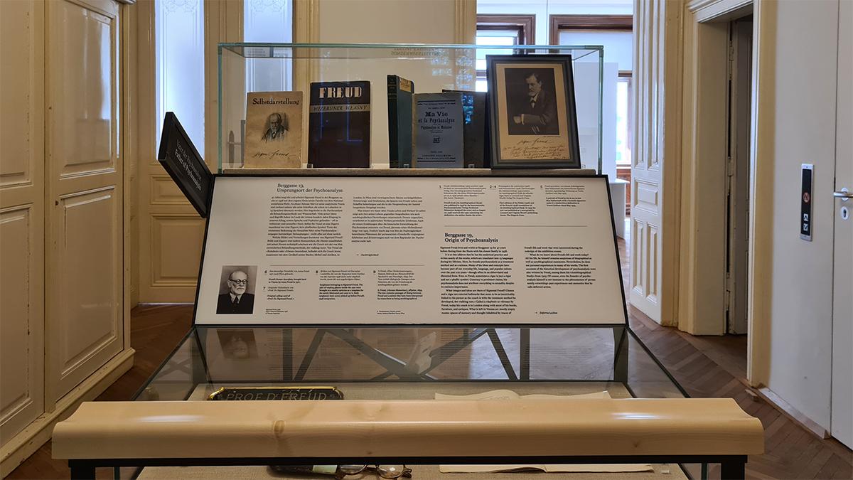 Freud Museum Vitrine