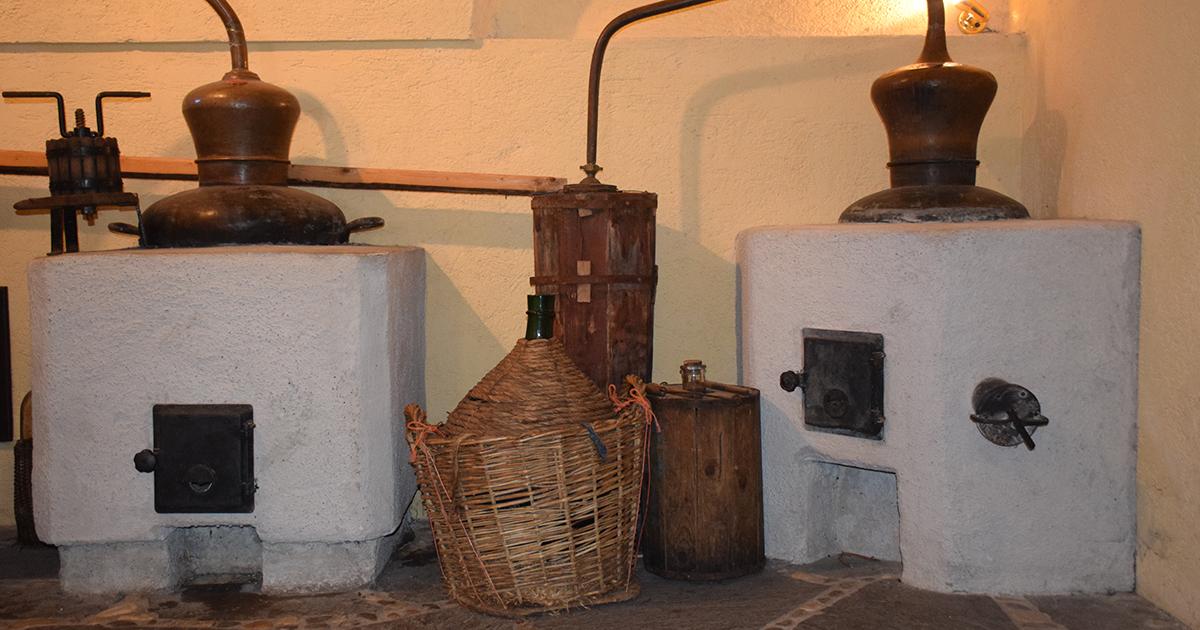 Antieke distilleerderij