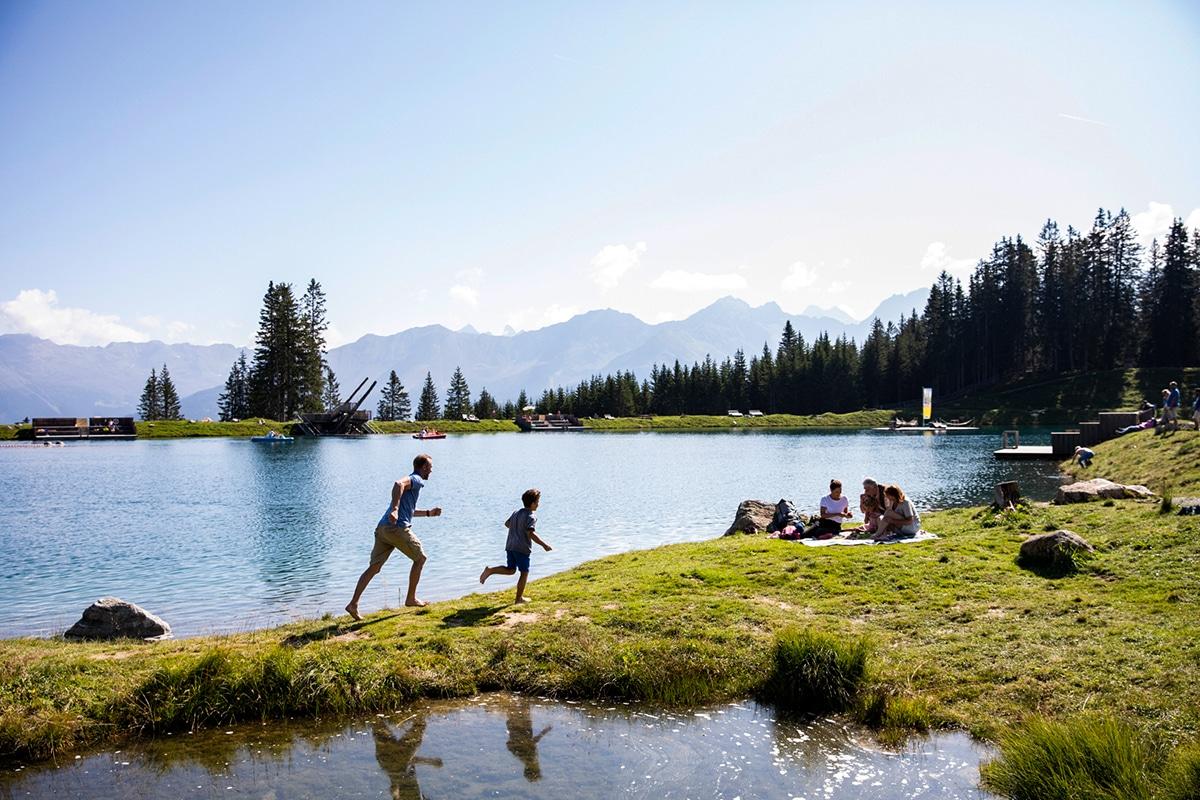 Picknick aan de Högsee