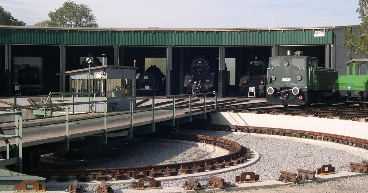 Lokpark Amflwang © Wikimedia Commons - Rex250