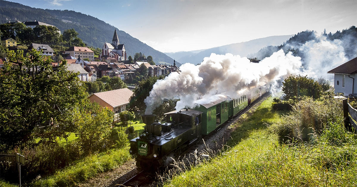 Murtalbahn © Steiermark Tourismus - Ikarus