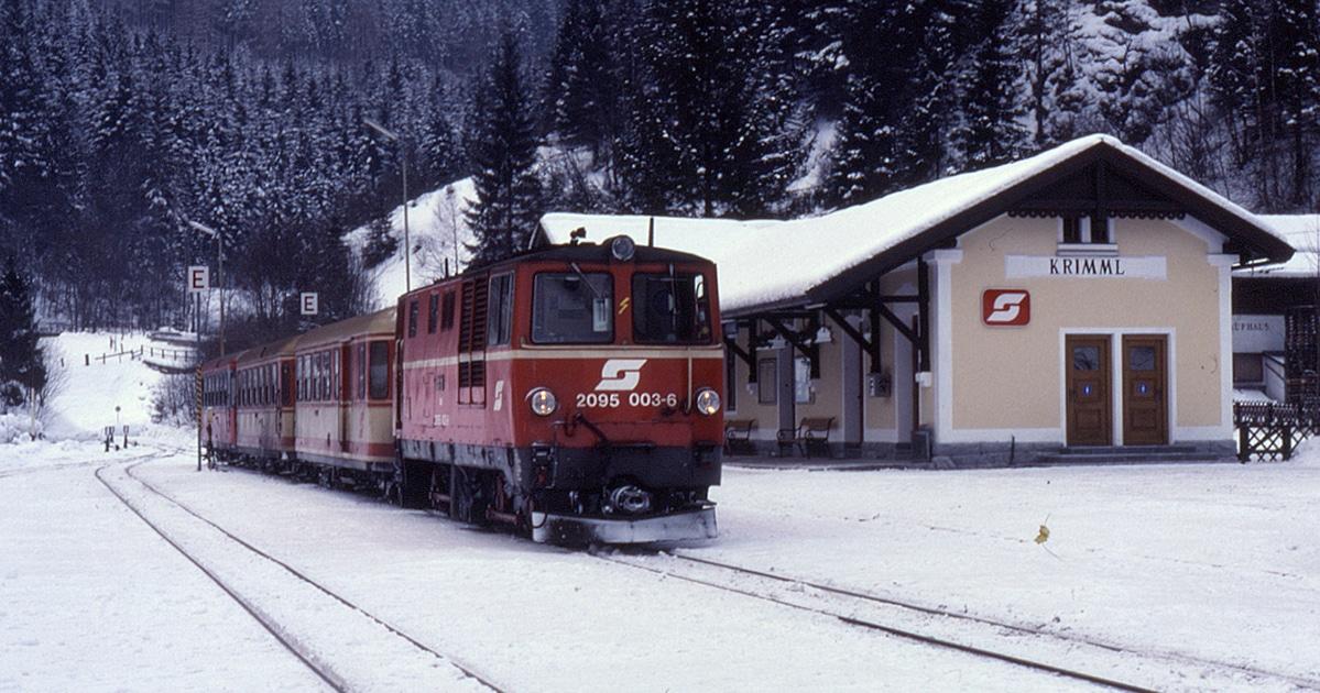 Pinzgauer Krimml © Wikimedia Commons - Phil Richards