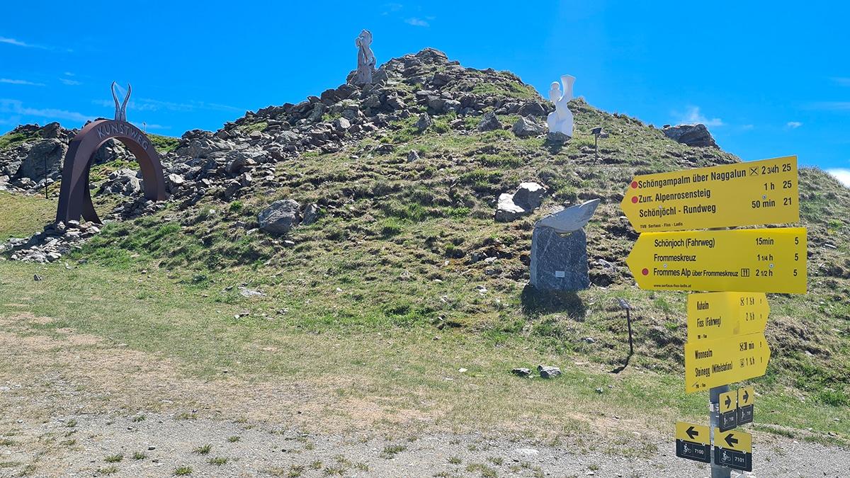 Kunst op de berg