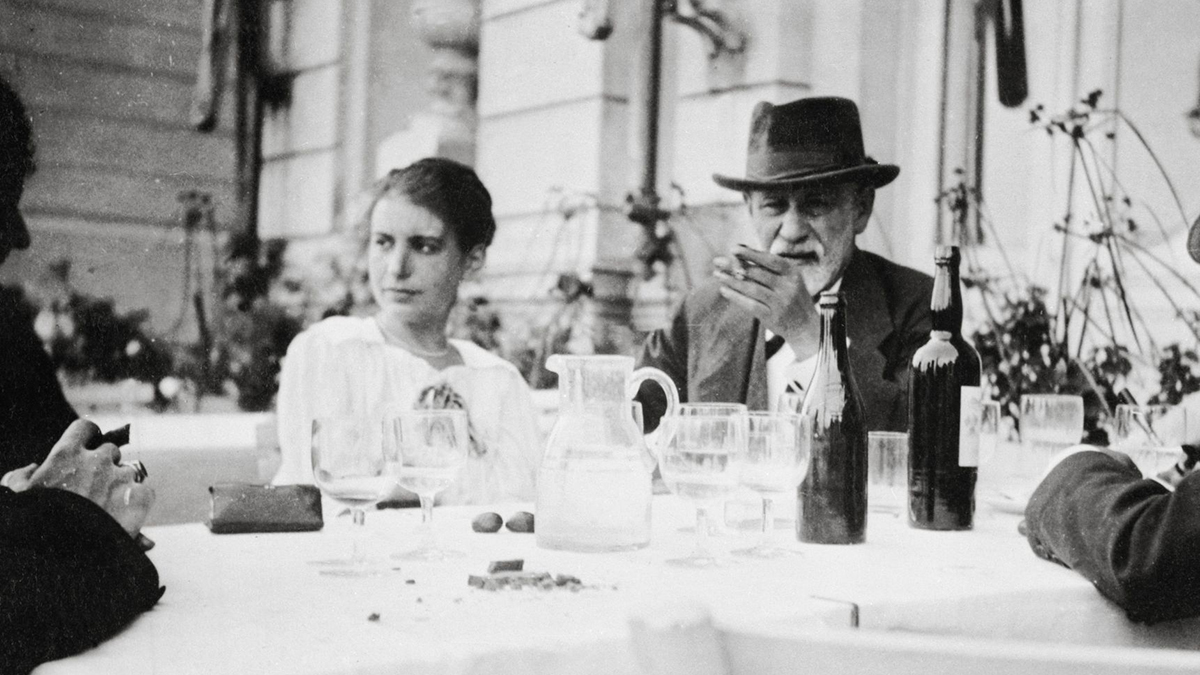 Anna en Sigmund Freud